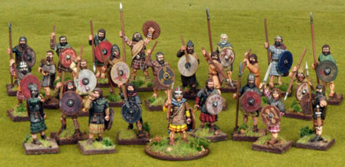 Gripping Beast SAGA Scots Warband 4 Points 28mm