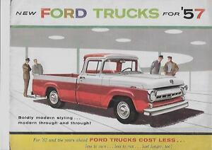 Image Is Loading Ford F C P B And T Series Trucks Usa S