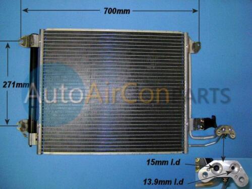Brand New AirCon Radiator Condenser Skoda Octavia / Superb Mk2 - 2 Year Warranty