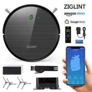 Detalles acerca de Ziglint D5 Robot Vacuum Cleaner Gyro Navi Voice Control  for Alexa & Google Home