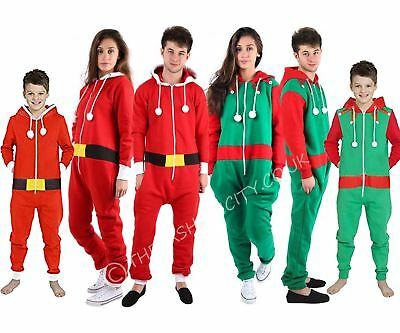 MüHsam Ladies Mens Kids One Piece Elf Santa Christmas All In One Unisex Size S-xxxxl Hochglanzpoliert