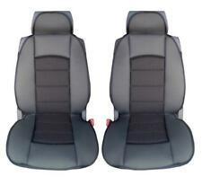 Car Seat Covers Black Front Universal Cushion Pair PREMIUM COMFORT PADDED