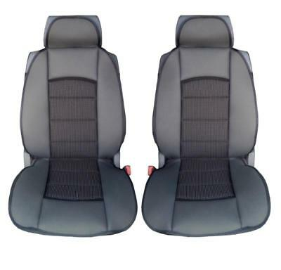 FRONT PAIR of Luxury QUILTED Protectors Car Seat Covers SUZUKI Swift Sport
