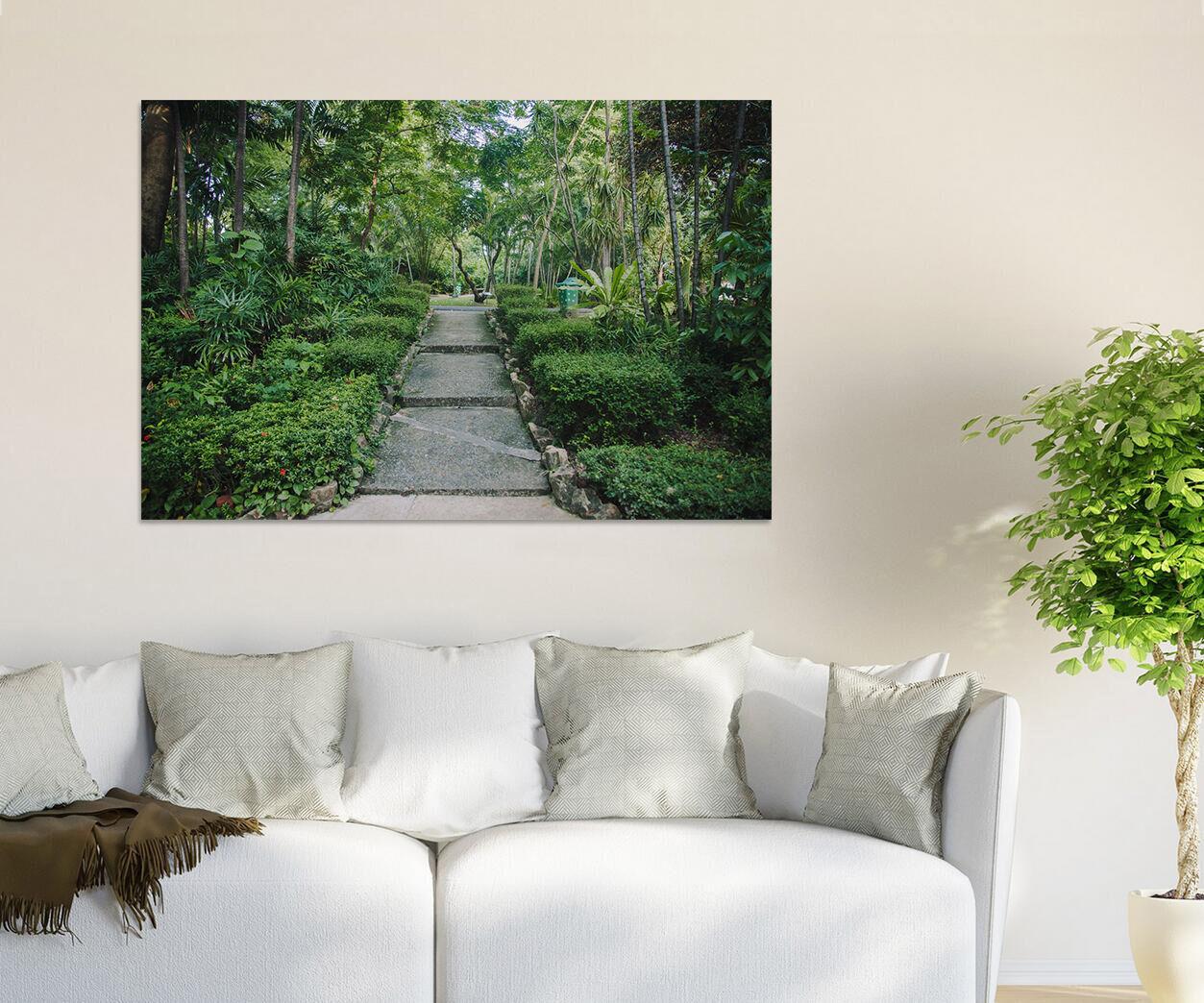 3D Gemtlich Park Stein Way  95 Fototapeten Wandbild BildTapete AJSTORE DE Lemon