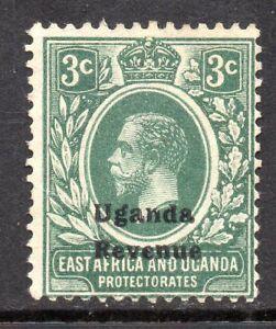 1918 Bft45 3c Green Fine Used Uganda Revenue - Bexhill-on-Sea, East Sussex, United Kingdom - 1918 Bft45 3c Green Fine Used Uganda Revenue - Bexhill-on-Sea, East Sussex, United Kingdom