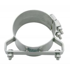"""exhaust band clamp bracket wide 304 stainless steel for 5"""" Freightliner stacks"""