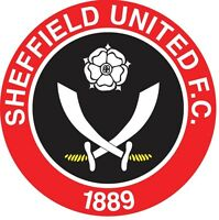 Sheffield United Football Club Vinyl Diecut Sticker Decal Soccer 4 Stickers