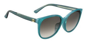 cbfcb15399a GUCCI GG 3854 F S SUNGLASSES VLR PEARLTURQUOISE 58-16-140 NEW WITH ...