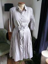 Plumo Grey Audrey Fifties Style Shirt dress M (12)