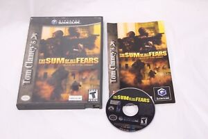 Nintendo-Gamecube-Tom-Clancy-039-s-The-Sum-of-All-Fears-Complete