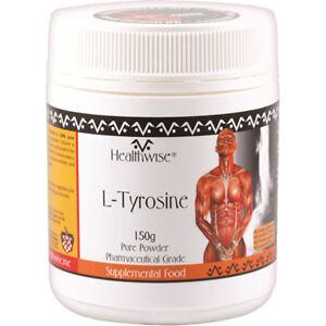 NEW Skincare HealthWise Healthwise L-Tyrosine Powder 150g