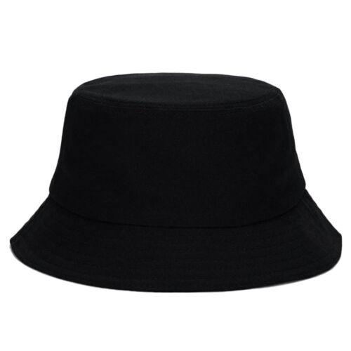 Black Unisex Bucket Hat Boonie Hunting Fishing Outdoor Cap Men/'s Summer Sun Hat
