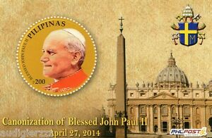 2014-Canonization-of-Pope-John-Paul-II-Philippine-Stamp-Mint