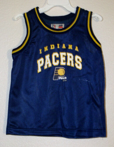 Indiana PACERS Toddler Basketball Jersey 2T 3T 4T NWT