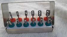 Dental Surgical Implant Trimmer mini kit / Tissue Punch Set of 12 Pcs St.Box