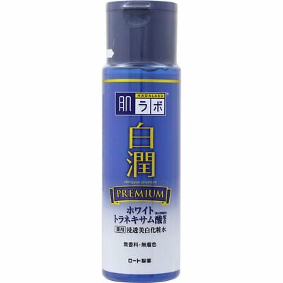 Made in JAPAN ROHTO HadaLabo Shirojyun Premium Whitening Lotion / 4 Types