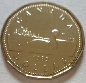 Canadian UNC 2010 Canada Loonie One Dollar Coin 1 $