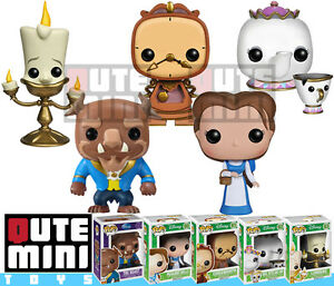 Image Is Loading FUNKO POP DISNEY BEAUTY AND THE BEAST COGSWORTH