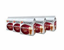 TASSIMO Costa Caramel Latte Coffee Pods - Pack of 45