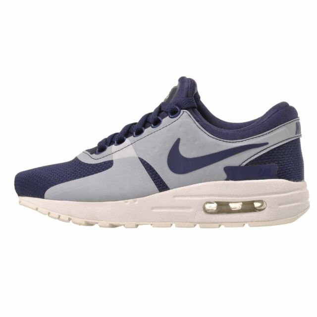 half off c981b f6d84 Nike Air Max Zero Essential GS Casual Kids Youth Womens Shoes Blue  881224-402