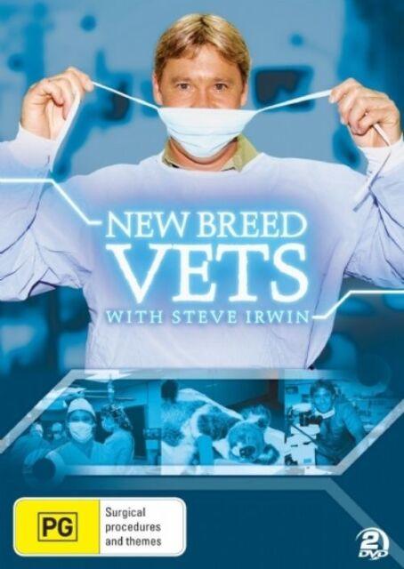 Steve Irwin's New Breed Vets (DVD, 2008) BRAND NEW