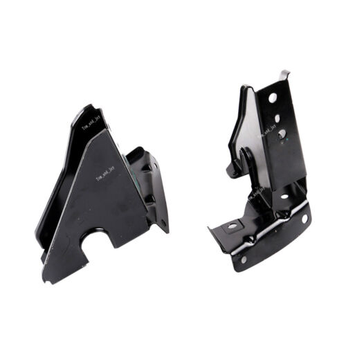 L+R Set For BMW E90 E91 325i 328i 330i 335i 335xi Car Hood Lock Plate Support