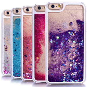 coque iphone 8 paillette liquide