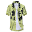 Men-039-s-Hawaiian-Shirt-Summer-Tropical-Tree-Short-Sleeve-Casual-Beach-Top-Blouse thumbnail 23