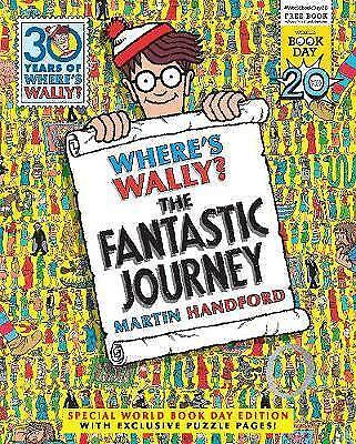 """1 of 1 - """"AS NEW"""" Where's Wally? The Fantastic Journey, Handford, Martin, Book"""