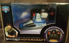 INFRARED REMOTE CONTROL MICRO HOVERCRAFT WITH BUILT IN CHARGER NEW BATTERIES INC