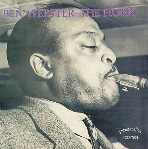 BEN-WEBSTER-amp-HIS-ORCHESTRA-1944-THE-HORN-1993-JAZZ-CD-REISSUE