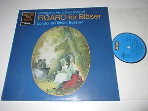 LP-MOZART-FIGARO-FUR-BLASER-LONDONER-BLASER-SOLISTEN-BRYMER-Decca-SMD-1268-NM