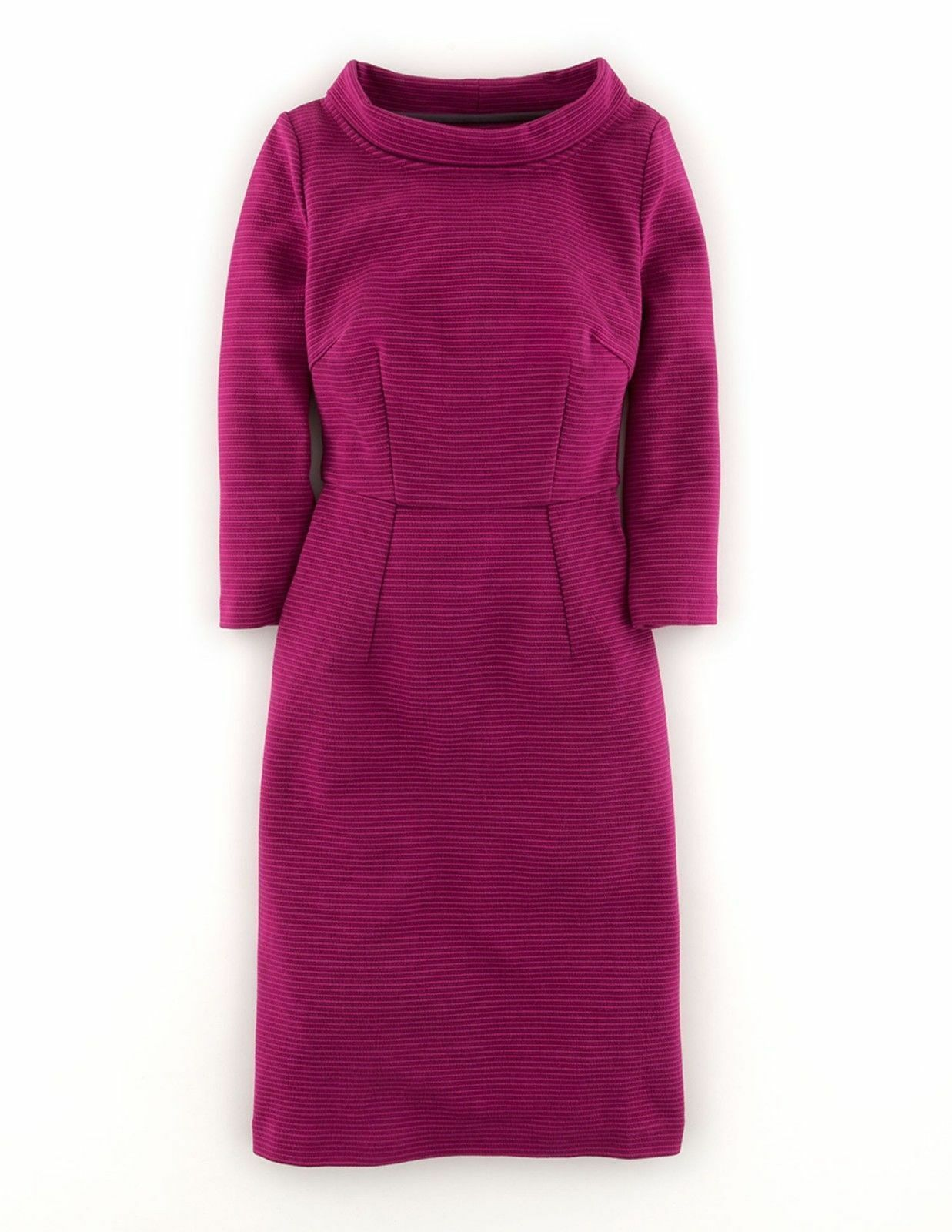 NEW Org  238 Boden Rich Purple Magenta Zoe Dess Size US 2