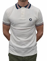 Trojan Records Ecru Stripe Polo Shirt Mod Clothing Northern Soul Ska Skinhead