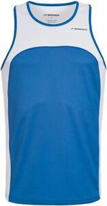 Brooks-Sprint-Mens-Running-Vest-Royal-Blue-White-Lightweight-Breathable-Racing