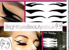 WATERPROOF BLACK EYELINER TEMPORARY TATTOOS SEMI-PERMANENT LASTS UP TO 3 DAYS