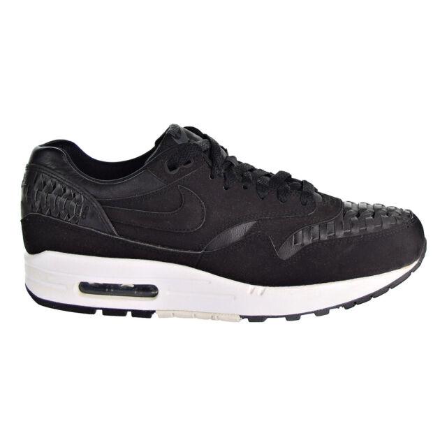Nike Air Max 1 Woven BlackBlack Dark Grey   Footshop