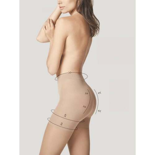 Fiore Total Slim 20 tummy hip and thigh shaper tights bottom