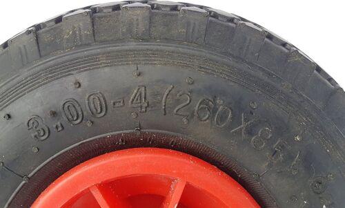 Asse i guasti sicuro ruota di scorta CARRETTO CARRELLO PORTAPACCHI 260x85 2 x PU Ruota