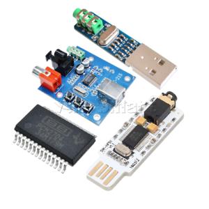 Mini USB Powered PCM2704 Sound Card DAC Decoder 3.5mm DC 5V for PC Computer