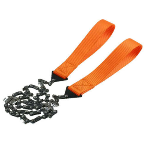 Hand ChainSaw,Camping Portable Pocket Gear Chain Saw Cutting Firewood Tools UK