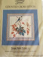 Something Special 1984 Counted Cross Stitch Kit Nanga Birds 50157