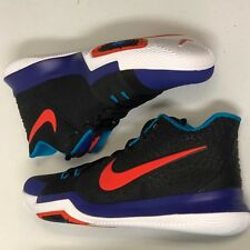 fe39627653f 2018 Nike Kyrie 3 SZ 14 Black Team Orange Concord 852395-007 NO BOX TOP