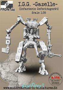 1-35-non-peinte-PANZER-INFANTRY-Figure-Soldat-Statue-Modele-Resine-GK-non-assemble