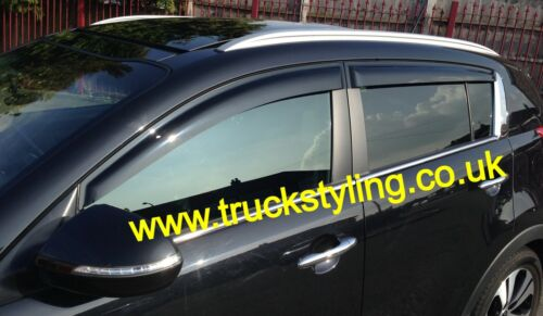 s/'adapte 2012-2015 modèles Kia sportage wind visors gardes déflecteurs x4