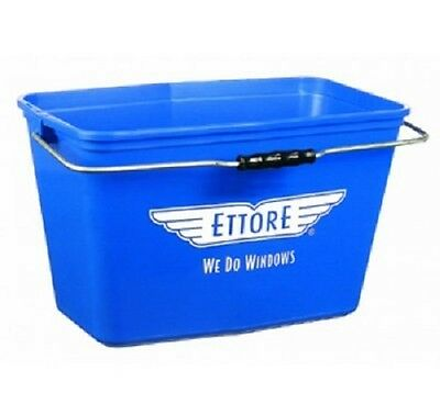 Ettore Window Cleaning Bucket without Lid Blue 15 L
