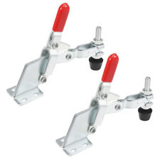 Toggle Clamp Vertical Quick Release Hand Tool 185kg407lbs Capacity 2pcs