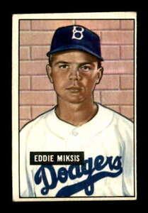 1951 Bowman #117 Eddie Miksis RC EX X1432728
