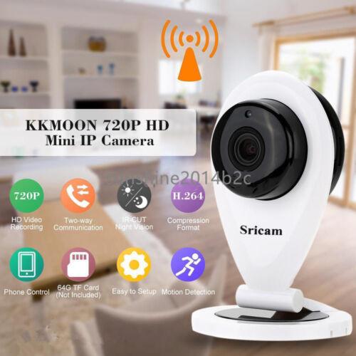 Sricam 720P HD Mini Wlan CAM Wifi IP IR Netzwerk Kamera Funk LZ