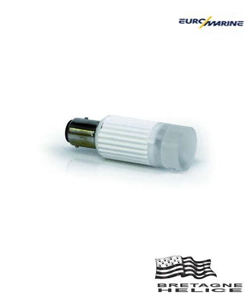 1 BULB BAY15D 1 LED 3W 8V-35V NEUTRAL WHITE EUROMARINE 020215